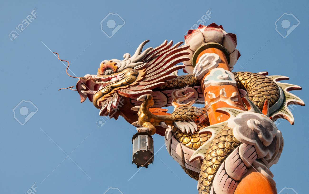 the dragon is meaning the guardian to protect people from the