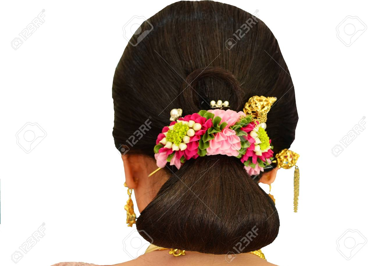 Garland Flower Bridal Hair Stock Photo - 20979165