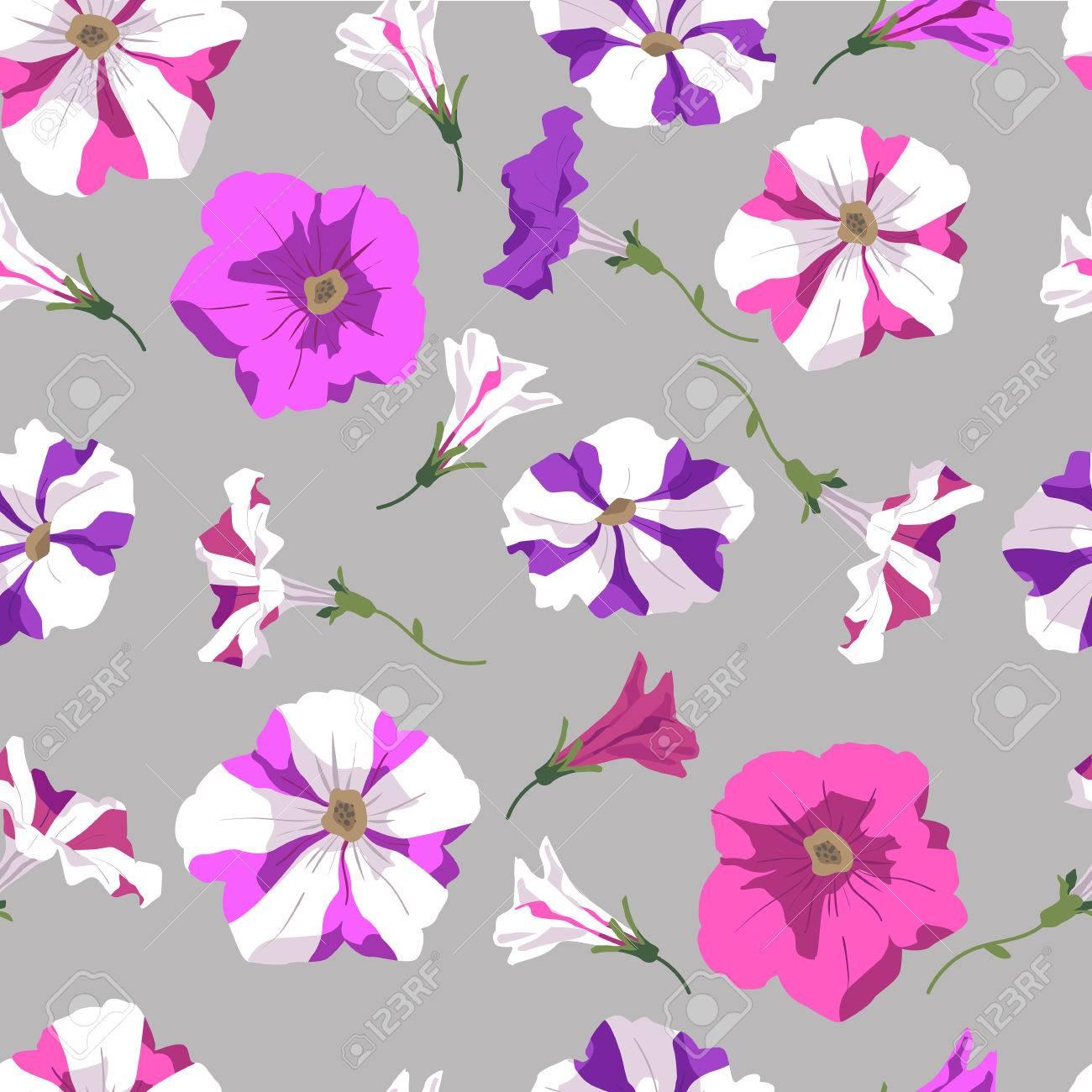 Arriere Plan De Rose De Violette Et De Deux De Couleur Des Fleurs