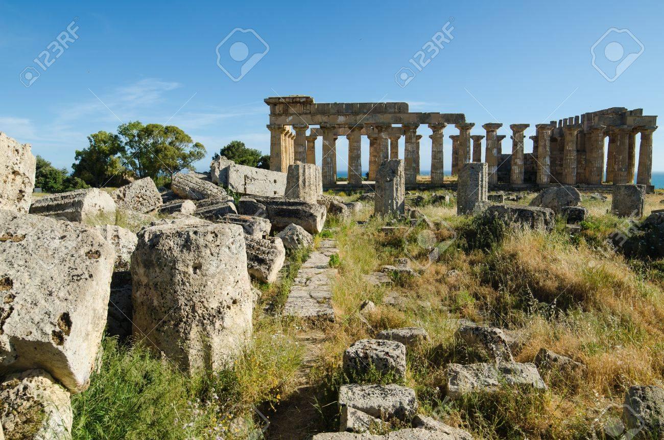 Selinunte, Sicily, Island, Italy - 21736330