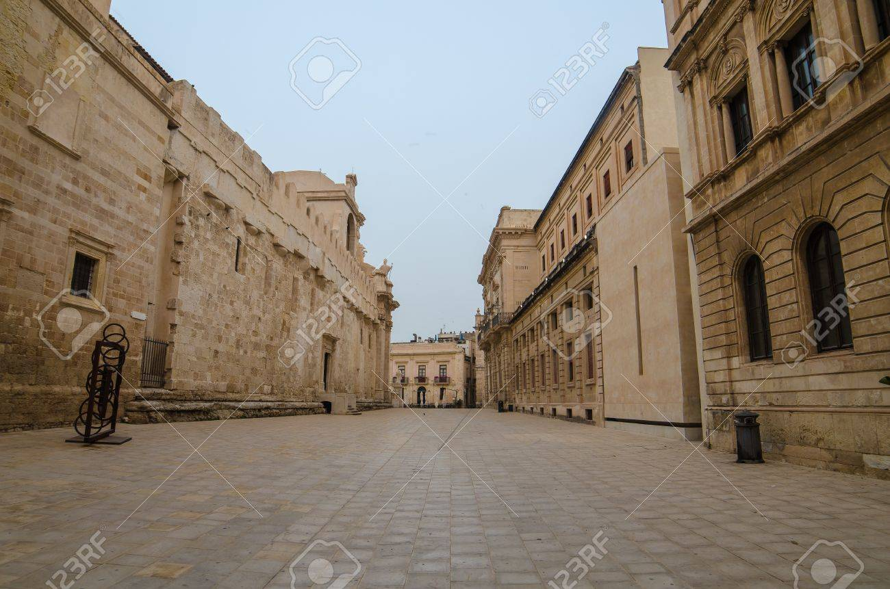 The old town of Syracuse, Sicily, Italy - 21718287