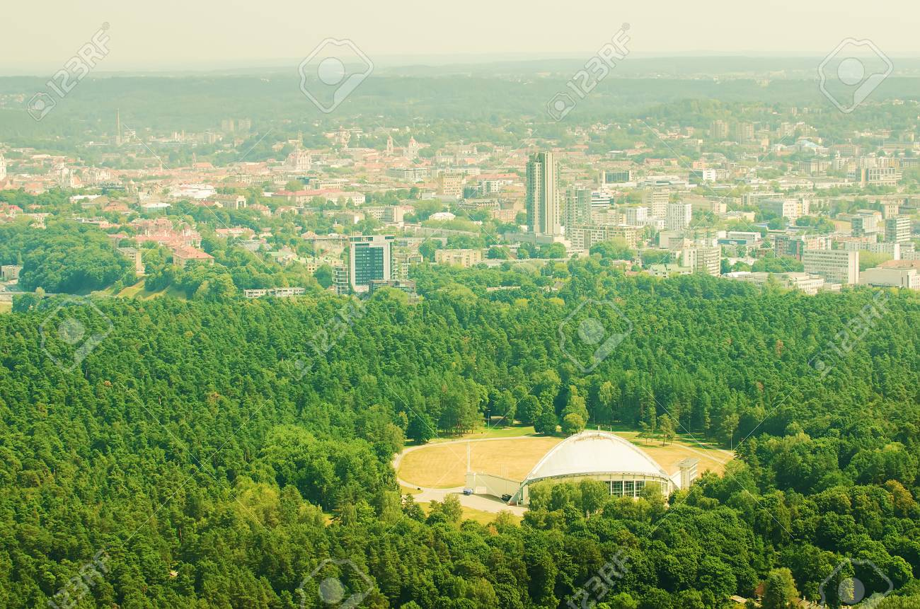 Vingio park in Vilnius, Lithuania - 30745312