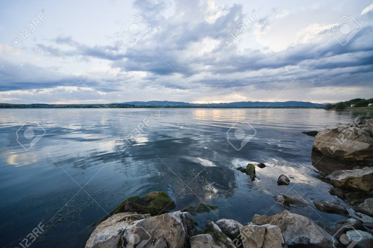 lake and sky Stock Photo - 12336674