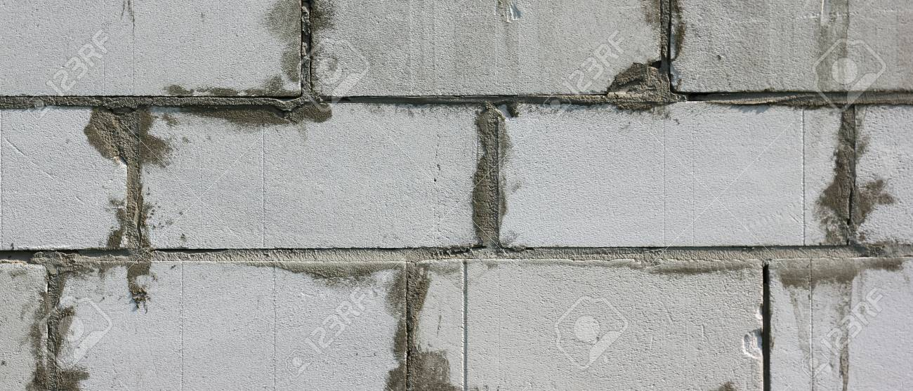 Background Texture Of White Lightweight Concrete Block Stock Photo    88413751