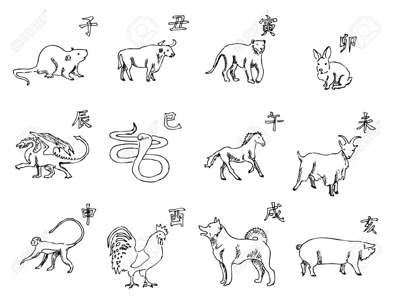 Chinese Symbols Animals Topsimages