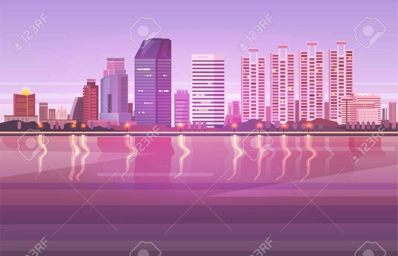 Vector illustration. Thailand. Travel around Bangkok. - 76341920