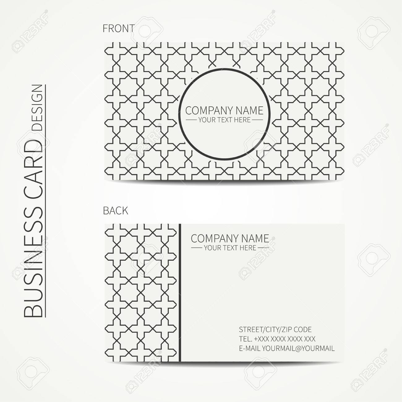 Silver star banner simple form template card vip vector image.