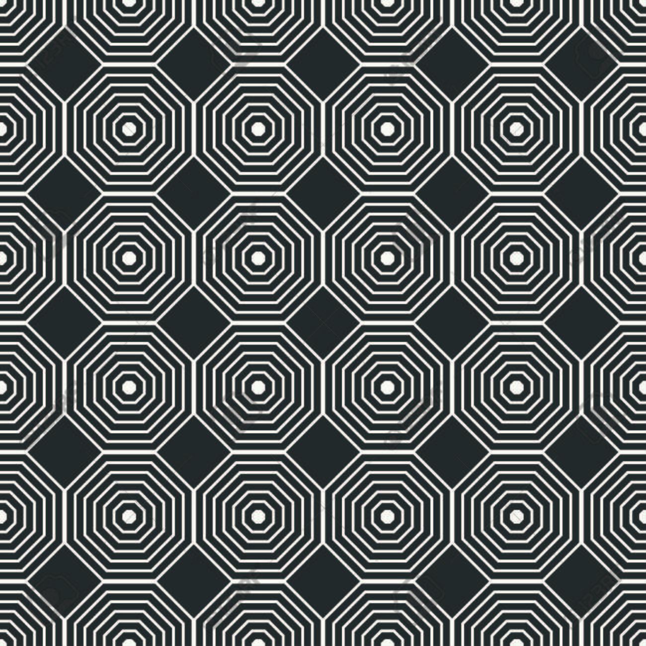Géométrique ligne monochrome réseau de motif arabe transparente. style  oriental islamique. Papier cadeau. papier Scrapbook.