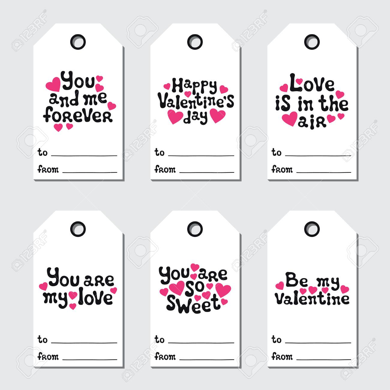 photo relating to Valentine's Day Tags Printable identified as St Valentines working day present tags. Printable tags assortment. Appreciate,..