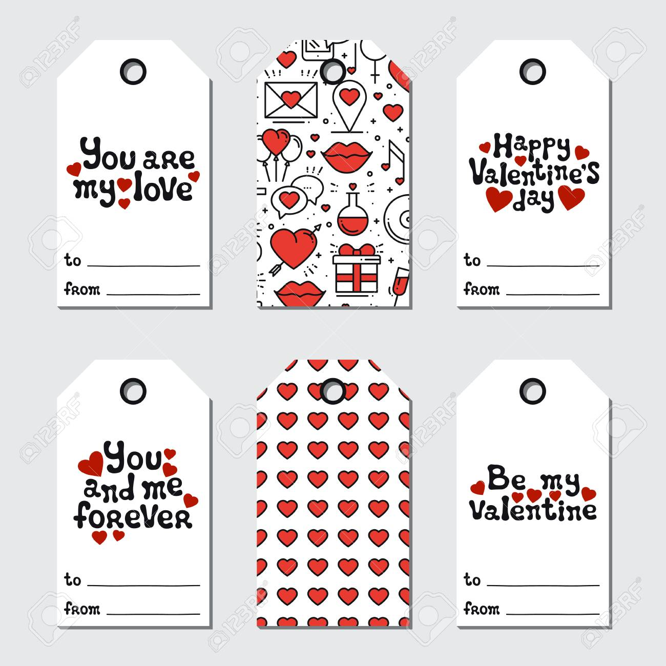graphic relating to Valentine's Day Tags Printable named St Valentines working day present tags. Printable tags assortment. Enjoy,..