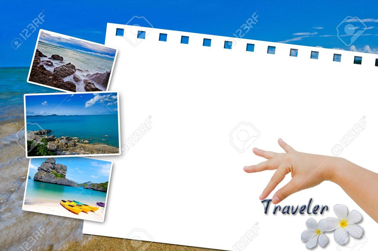 White board Traveler in Thailand Stock Photo - 10311869
