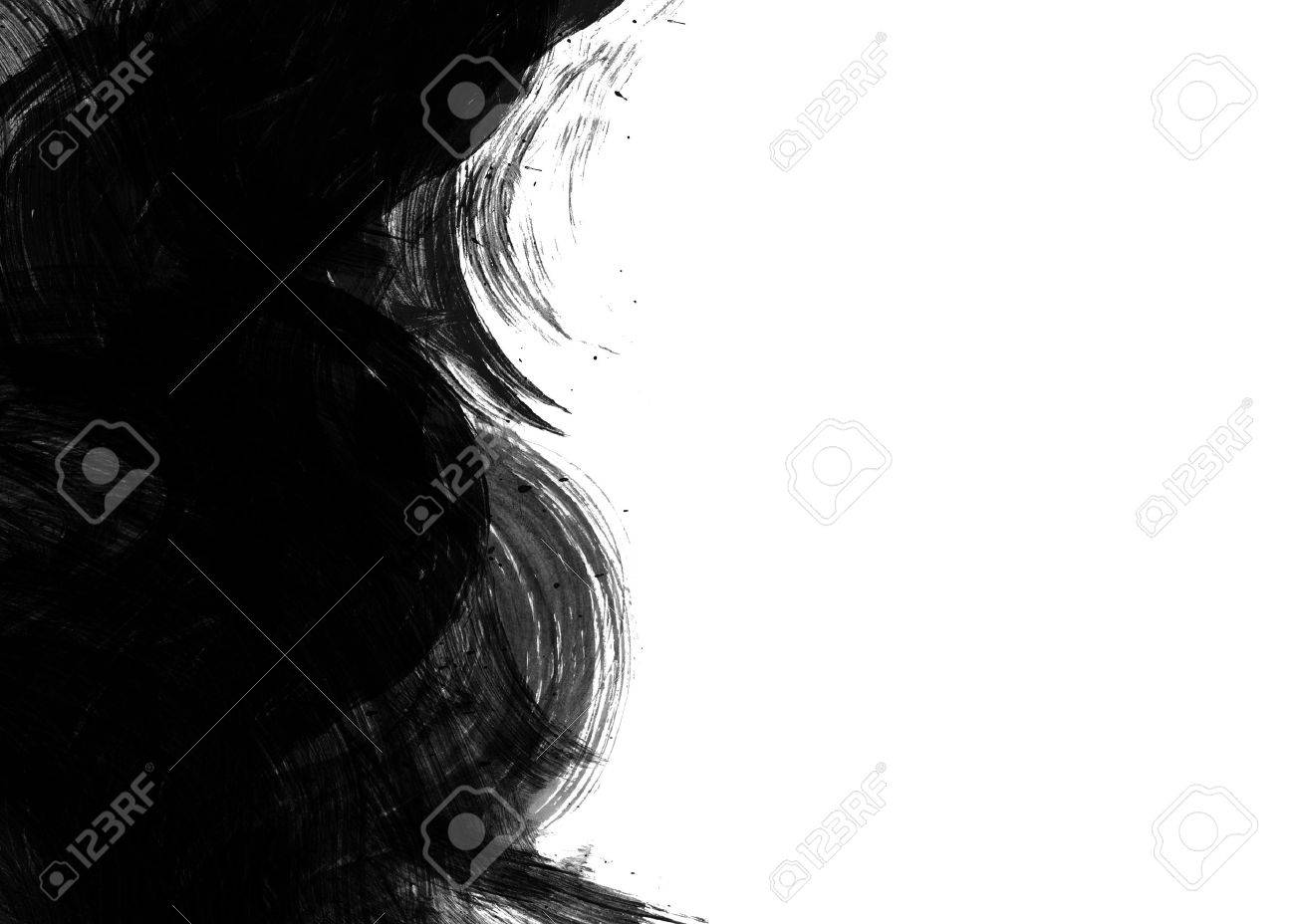 Black Water color on old paper texture background Stock Photo - 10618576