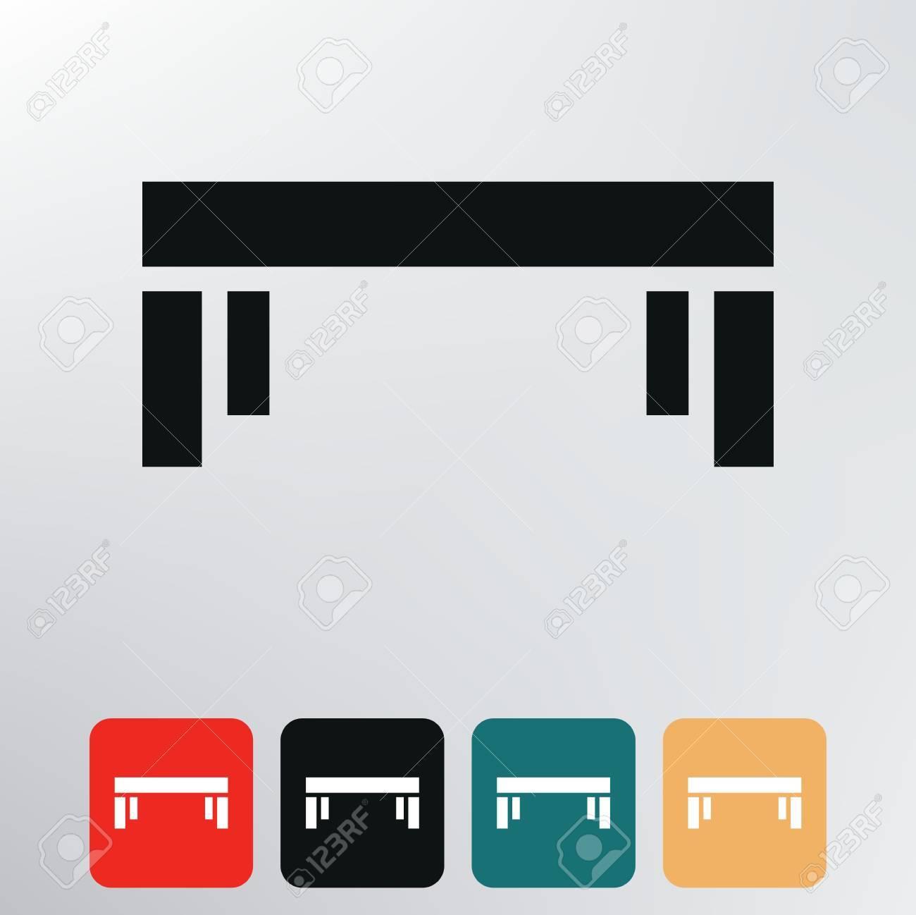Vector - table icon  Table Icon Vector