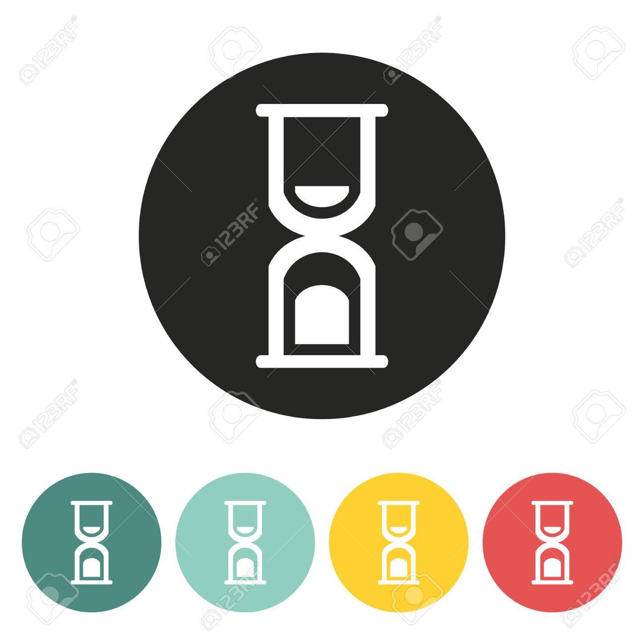 Sanduhr icon  Sanduhr Icon.Vector Abbildung. Lizenzfrei Nutzbare Vektorgrafiken ...