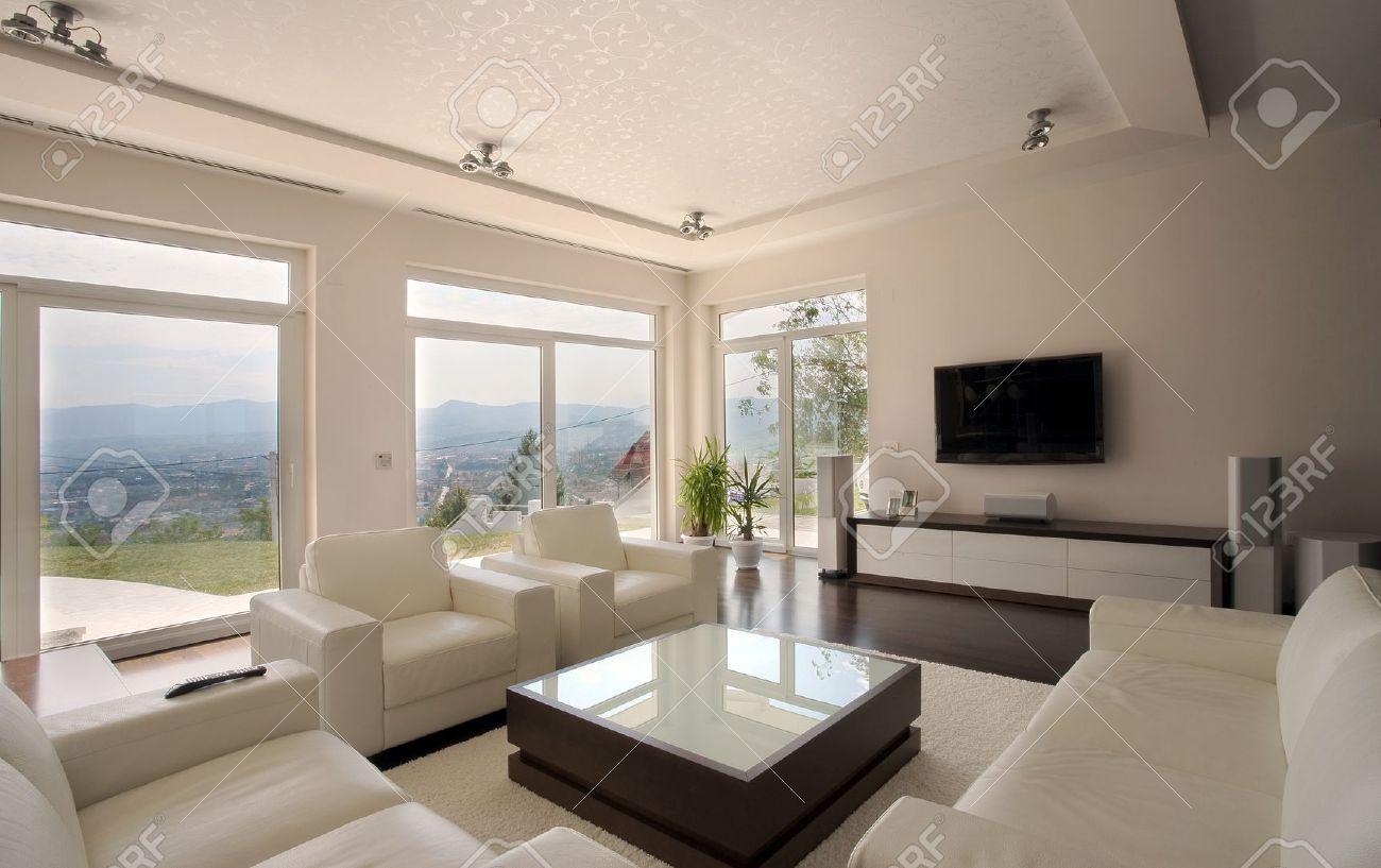 Modernes Haus Interior, Großen Und Teuren Haus Architektur ...