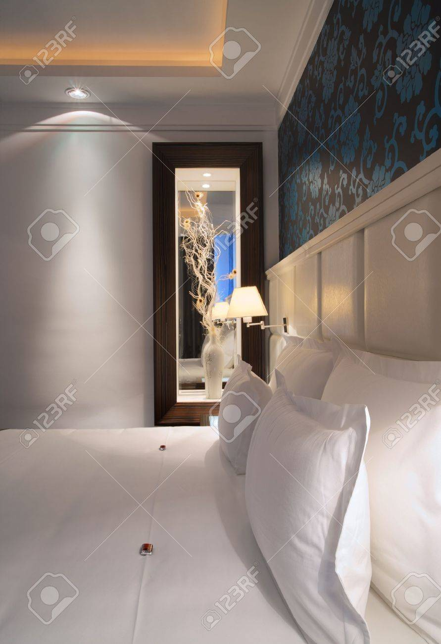 Interior of a hotel apartment with furniture, modern contemporary design. Stock Photo - 10380909