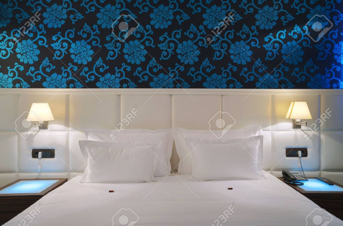 Interior of a hotel apartment with furniture, modern contemporary design. Stock Photo - 10380906