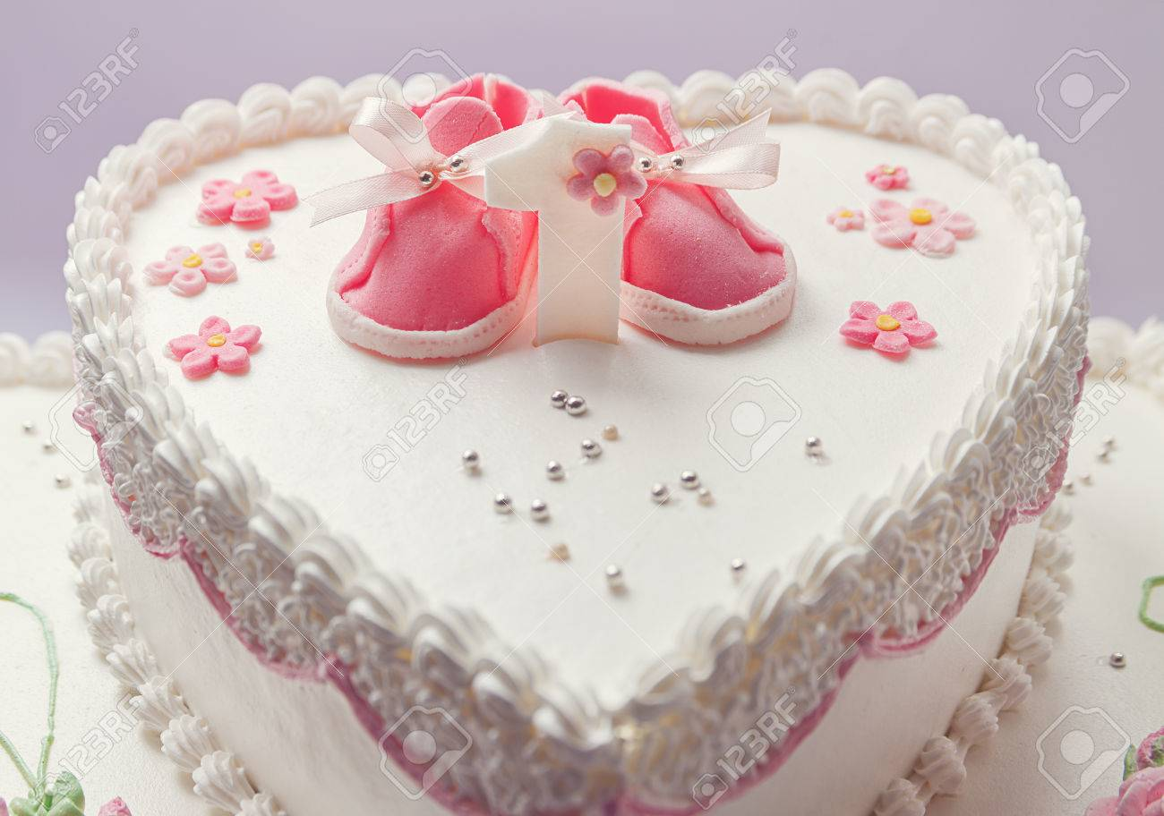 Astounding Details Of A Birthday Cake For Baby Girl Number One And Sweet Personalised Birthday Cards Veneteletsinfo