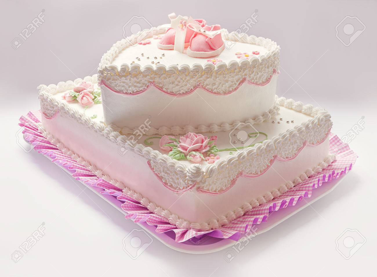 Prime Details Of A Birthday Cake For Baby Girl Number One And Sweet Personalised Birthday Cards Veneteletsinfo