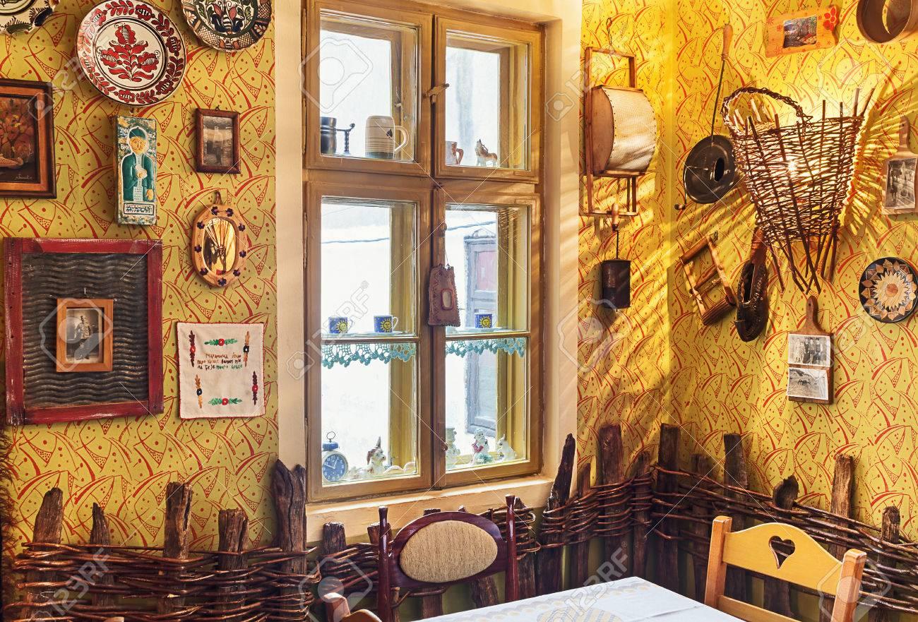 cacak, serbia - december 06, 2014: cafe and restaurant interior