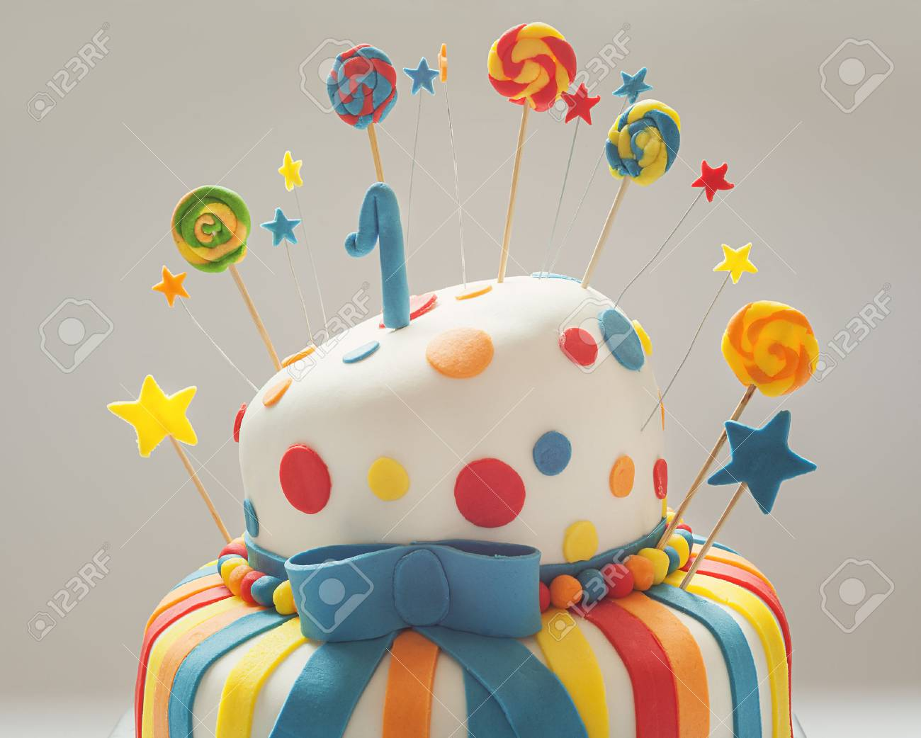 Enjoyable Funny Birthday Cake With Number One On Top Sweet Colorful Funny Birthday Cards Online Barepcheapnameinfo