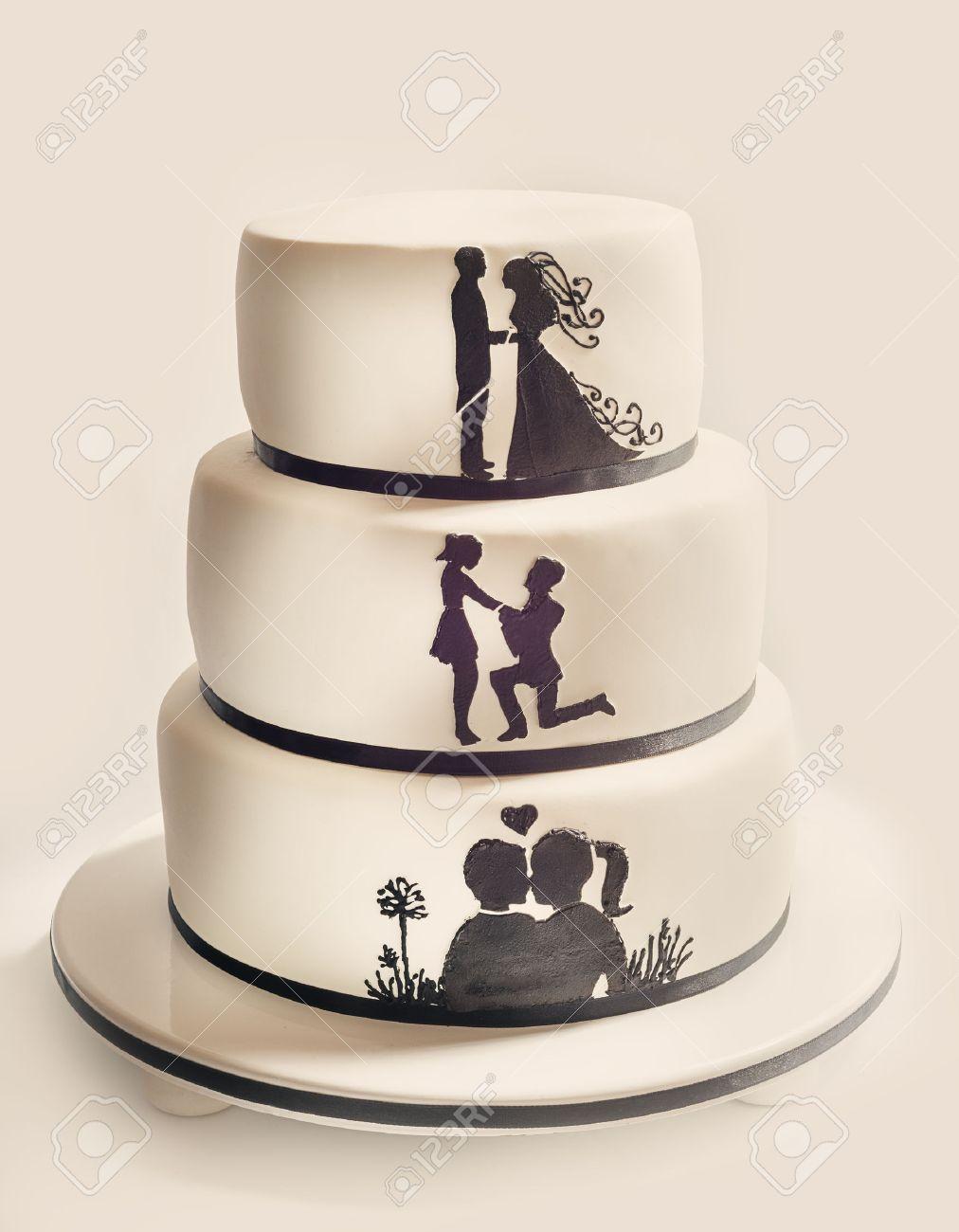 Awesome Peter Pan Wedding Cake Vignette - The Wedding Ideas ...