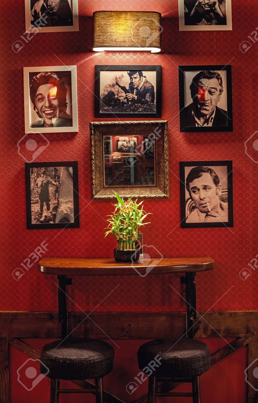 Cacak Serbia August 17 2015 Interior Design Of A Cafe Retro Stock Photo Picture And Royalty Free Image Image 54153027