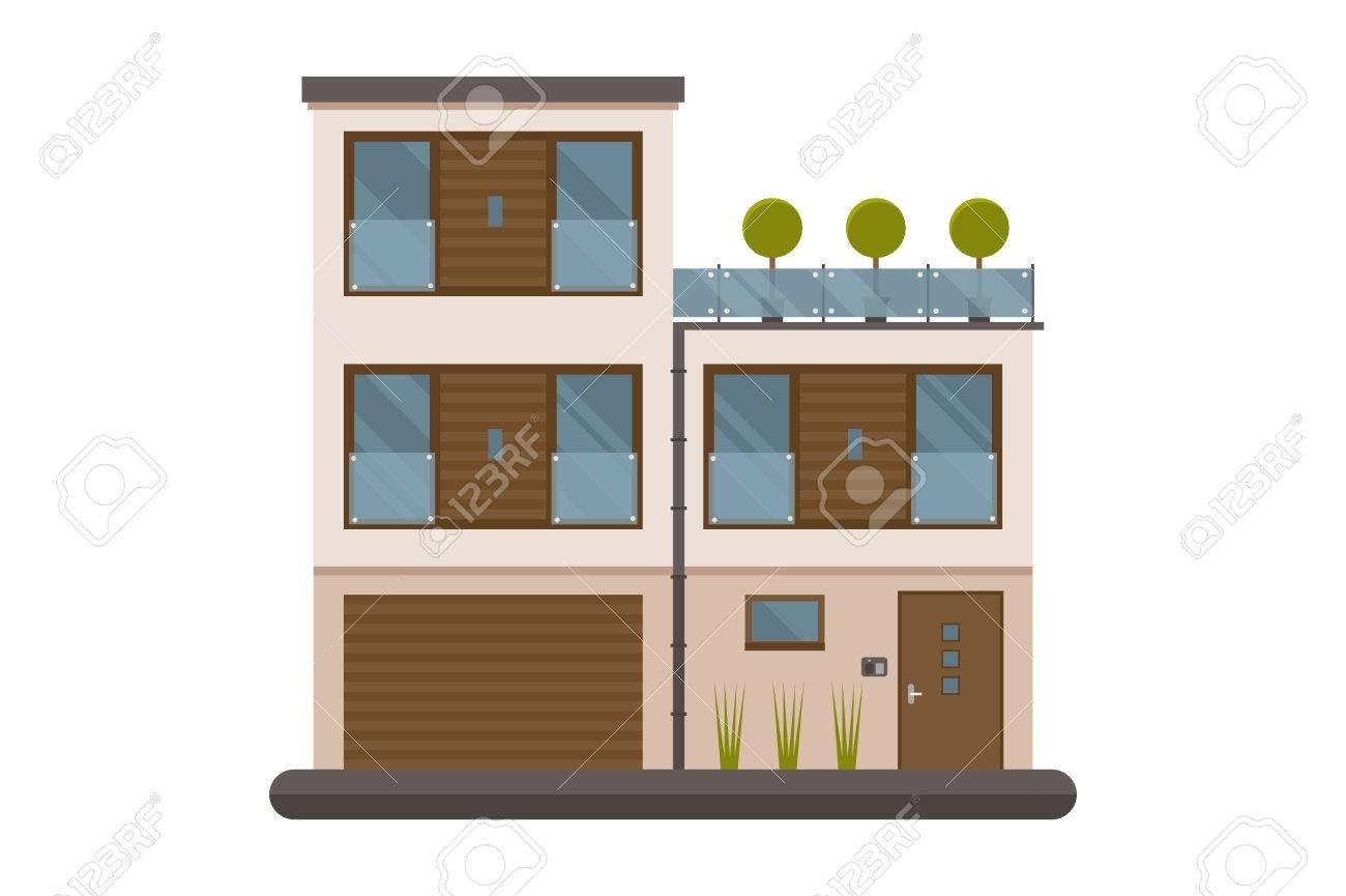 Scandinavian Appartement Design à Louer Ou Vivre Isolé Sur Fond ...