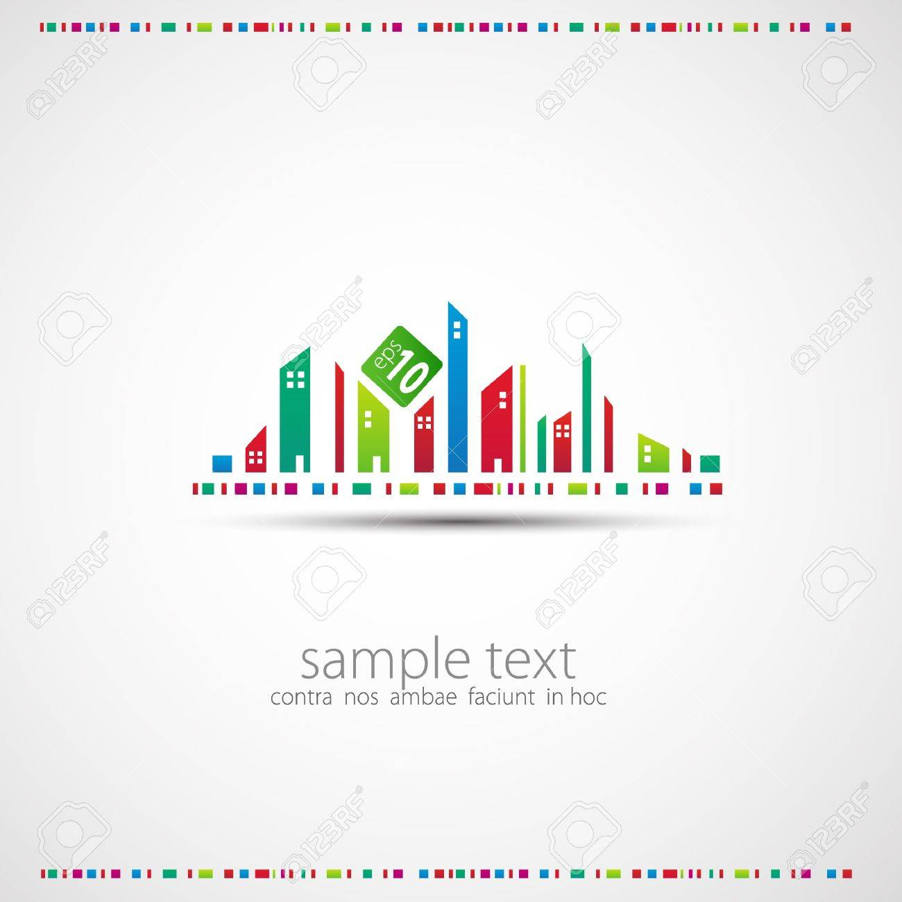 Abstract background. City theme. Stock Vector - 11057147