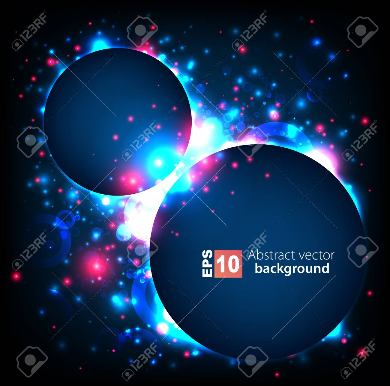Abstract space background Stock Vector - 14134325