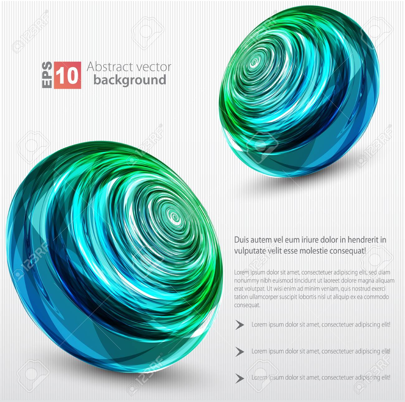 Abstract background  color sphere Stock Vector - 14134119
