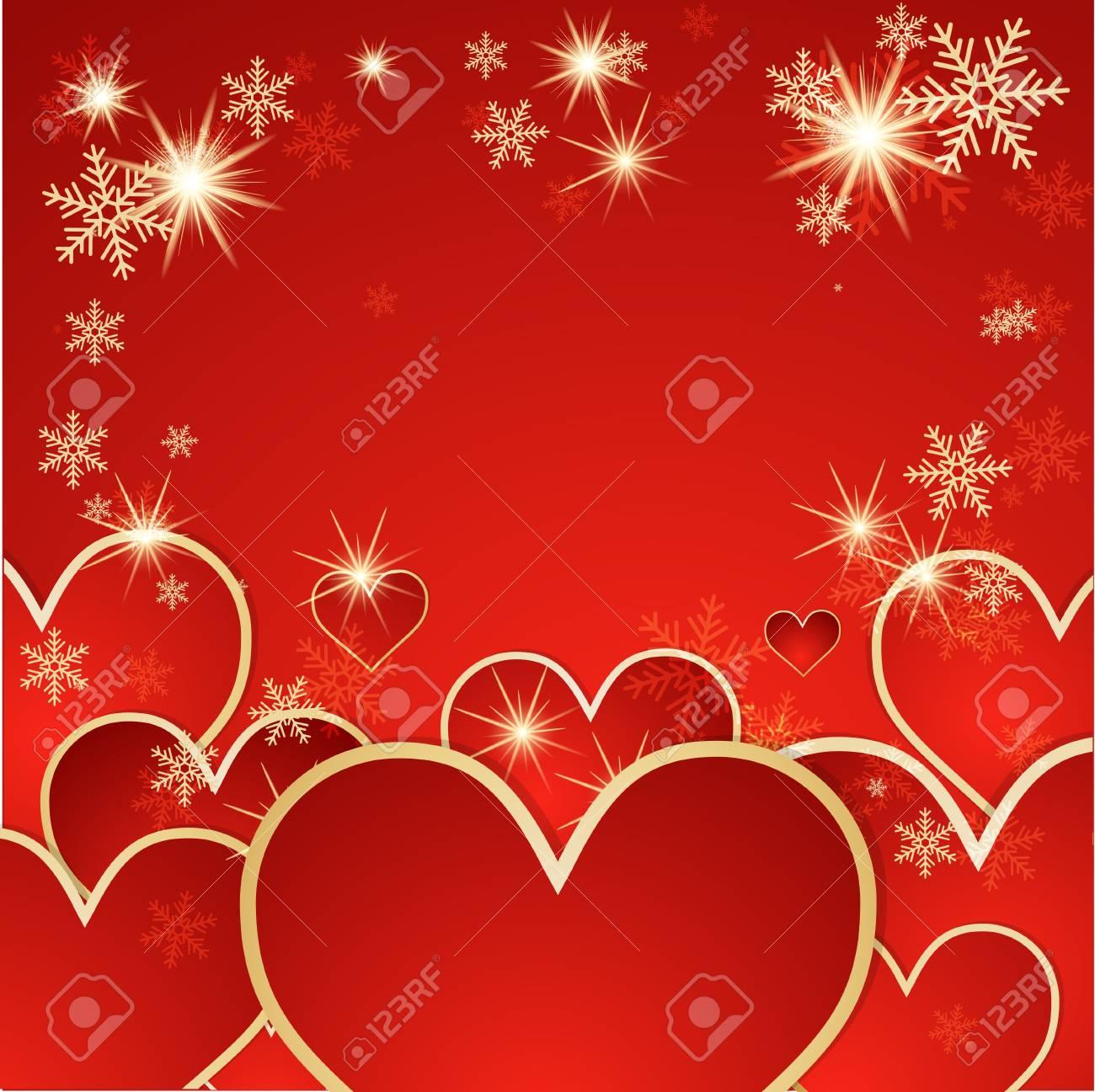 St  Valentine background Stock Vector - 14794564