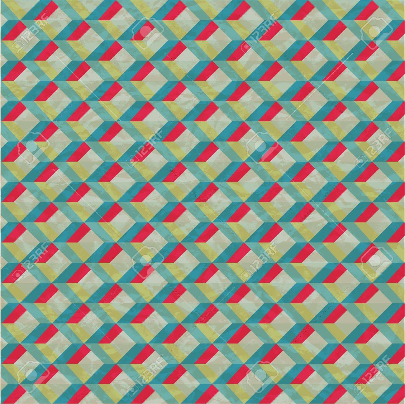 Abstract retro-style background  Vector Stock Vector - 18428895