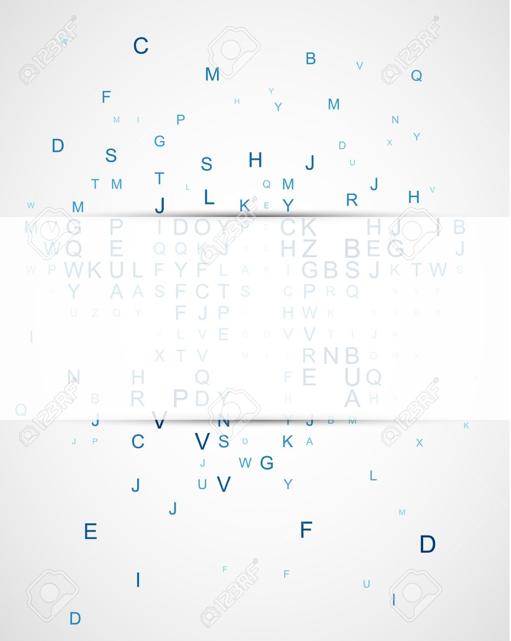 Abstract background with the sparse letters of the English alphabet Stock Vector - 20834098