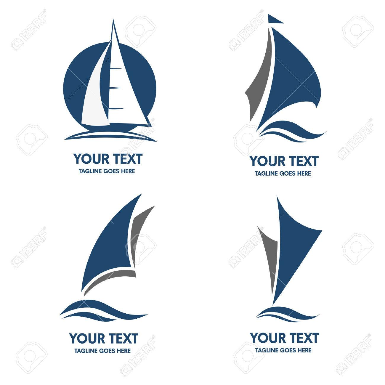 Sailing boat icon - 55080150