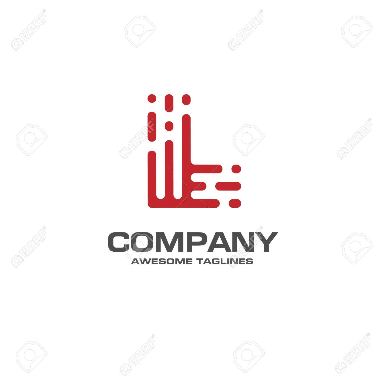 Creative Letter L Line Design Template Linear Best Royalty Free Cliparts Vectors And Stock Illustration Image 71162399