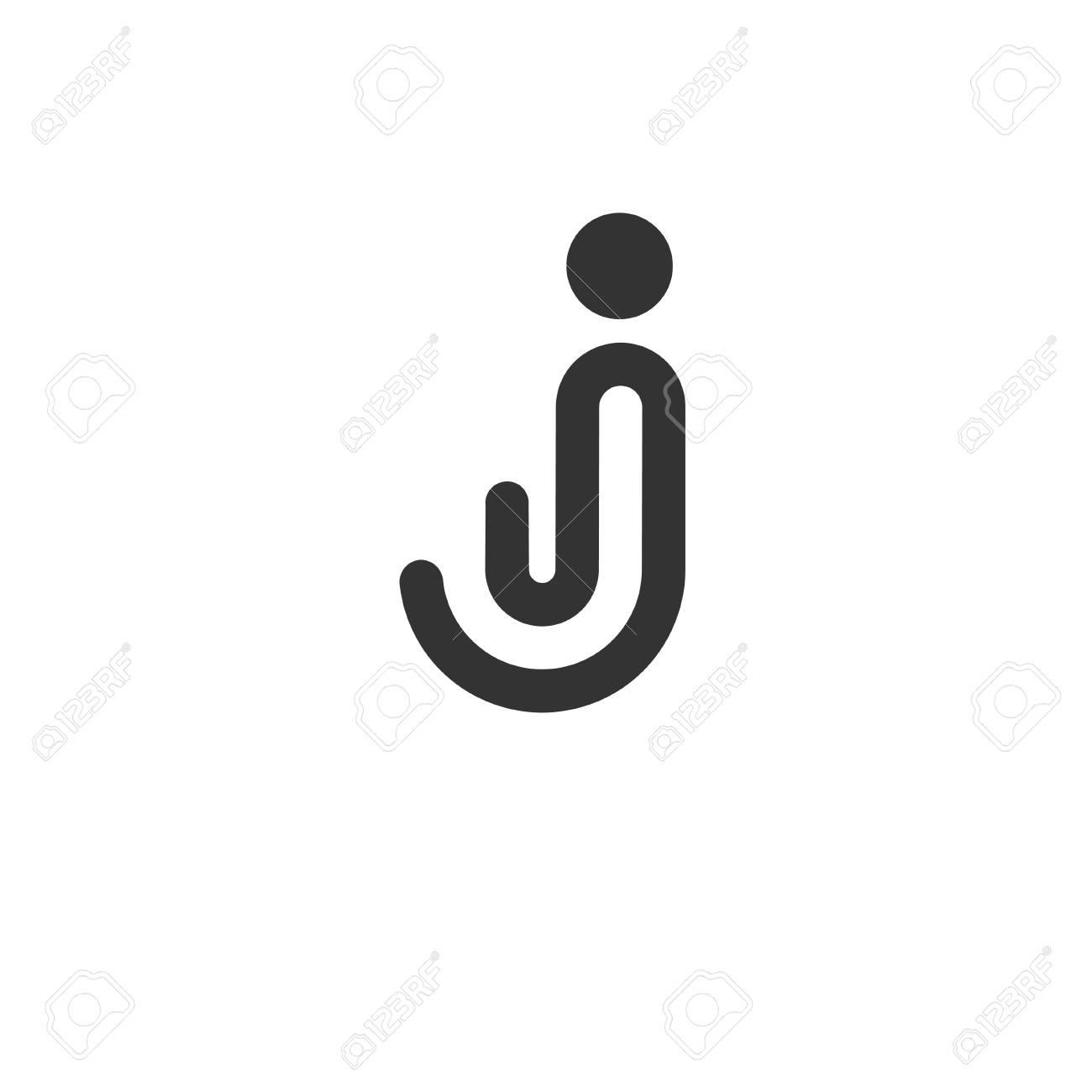 letter j logo design concept vector template abstract stock vector 70872108