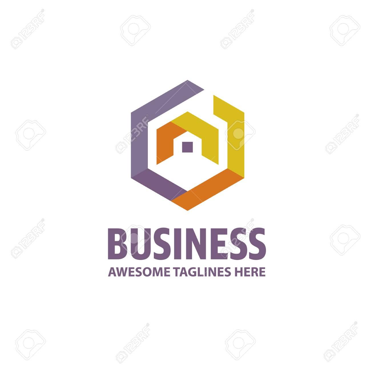 Creative Real Estate Logo, Property And Construction Logo Design ...