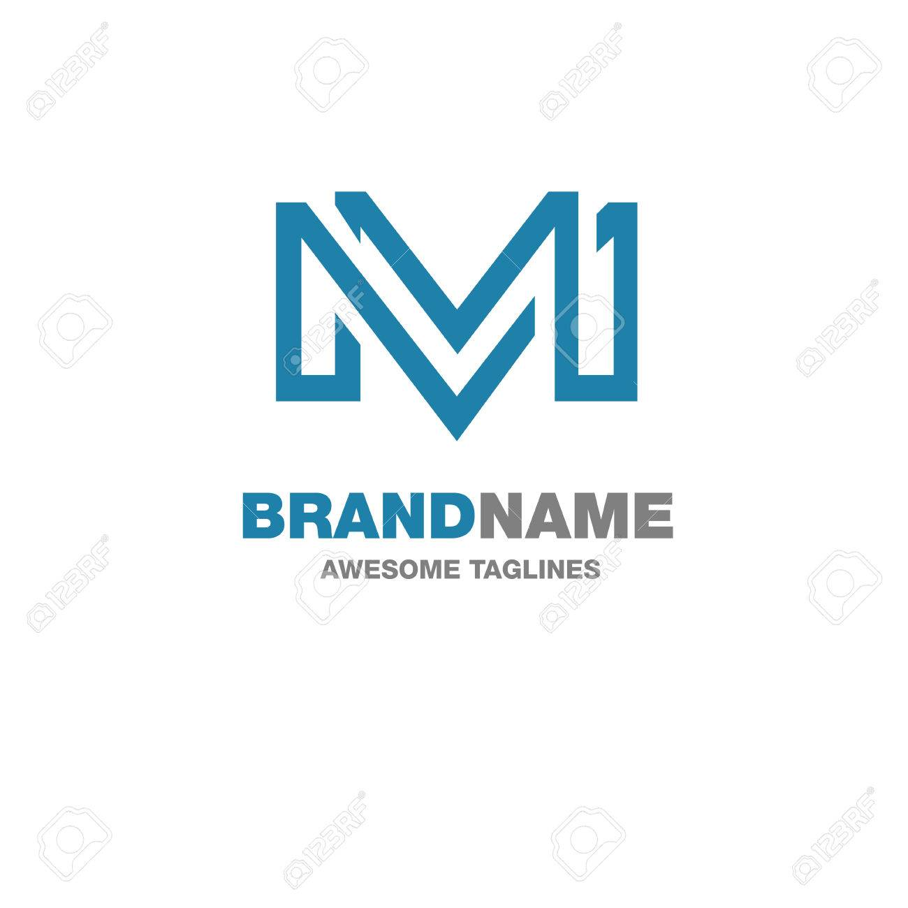 Creative Letter M Logo Letter M Abstract Business Logo Design