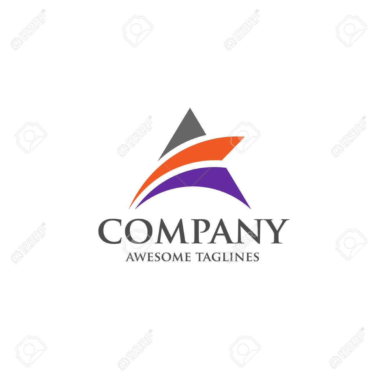 A Letter Logo Design Vector For Assurance And Finance Company Royalty Free Cliparts Vectors And Stock Illustration Image 78450622