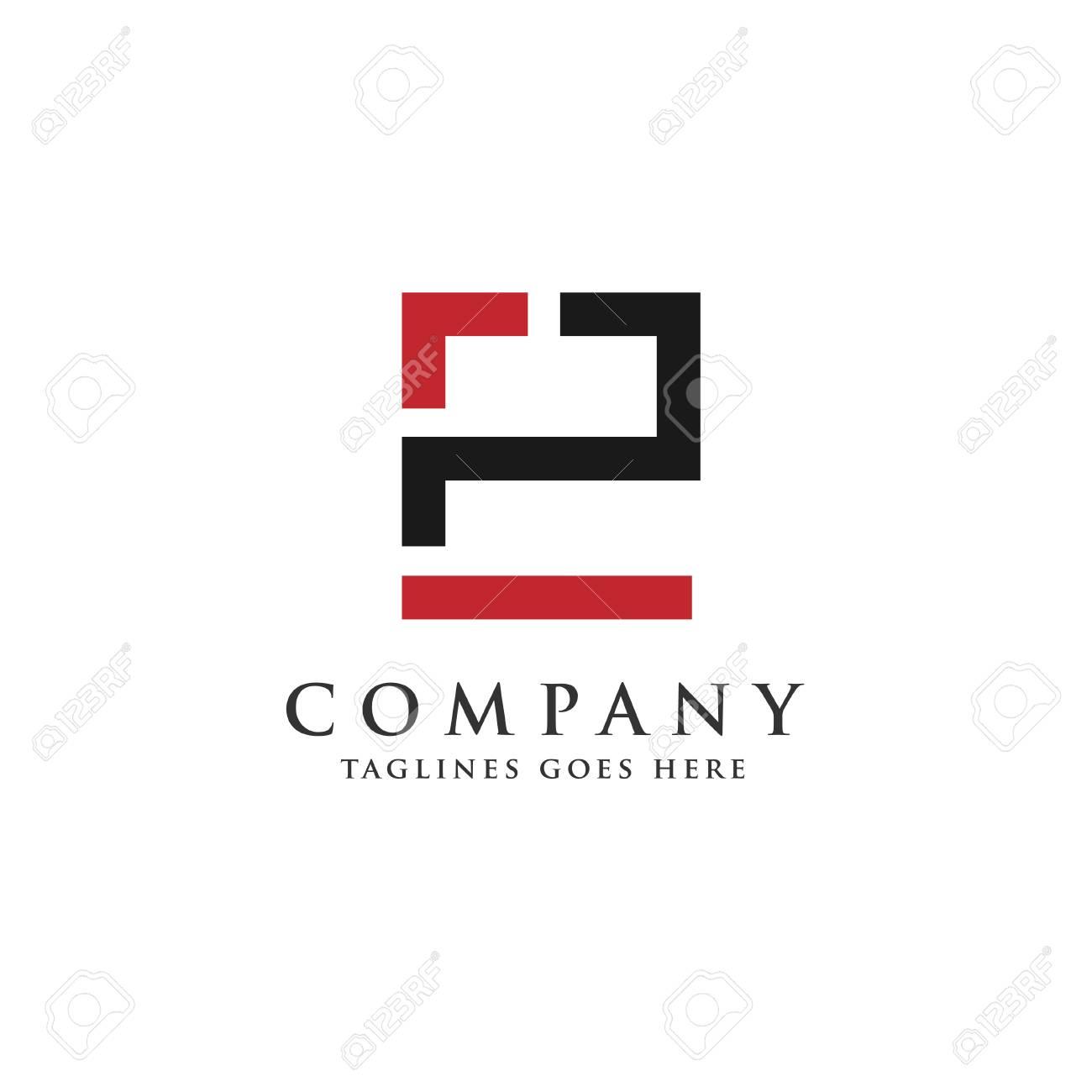 letter p and e logo design vector illustration template letter pe logo vector creative