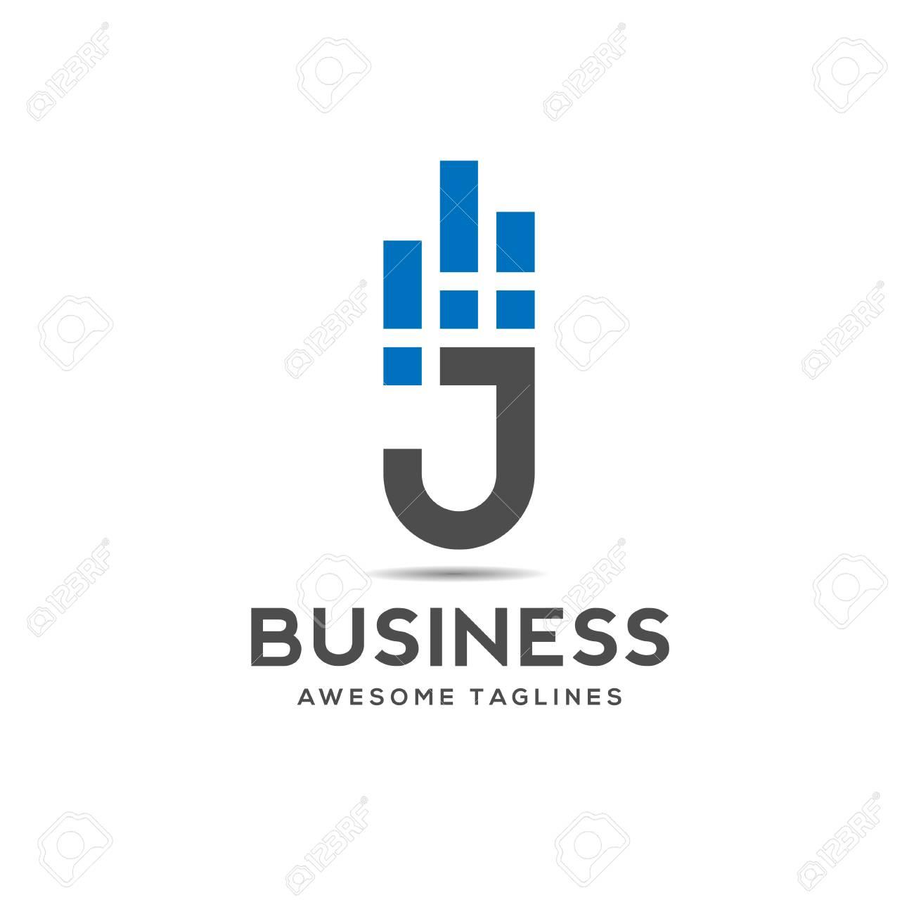 Creative Letter J Data Logo Design Template Elements, J Letter ... for Logo Design For Alphabets  53kxo