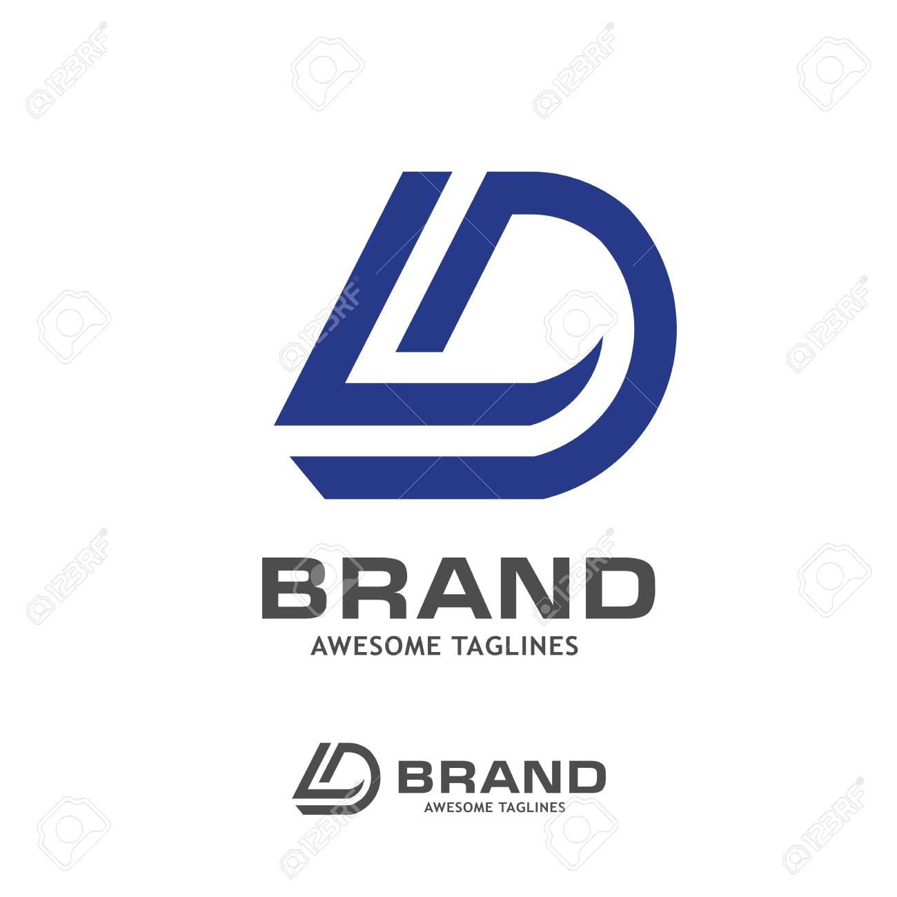 Dl Letter Logo Design Vector Illustration Template D Letter Logo Royalty Free Cliparts Vectors And Stock Illustration Image 89177757