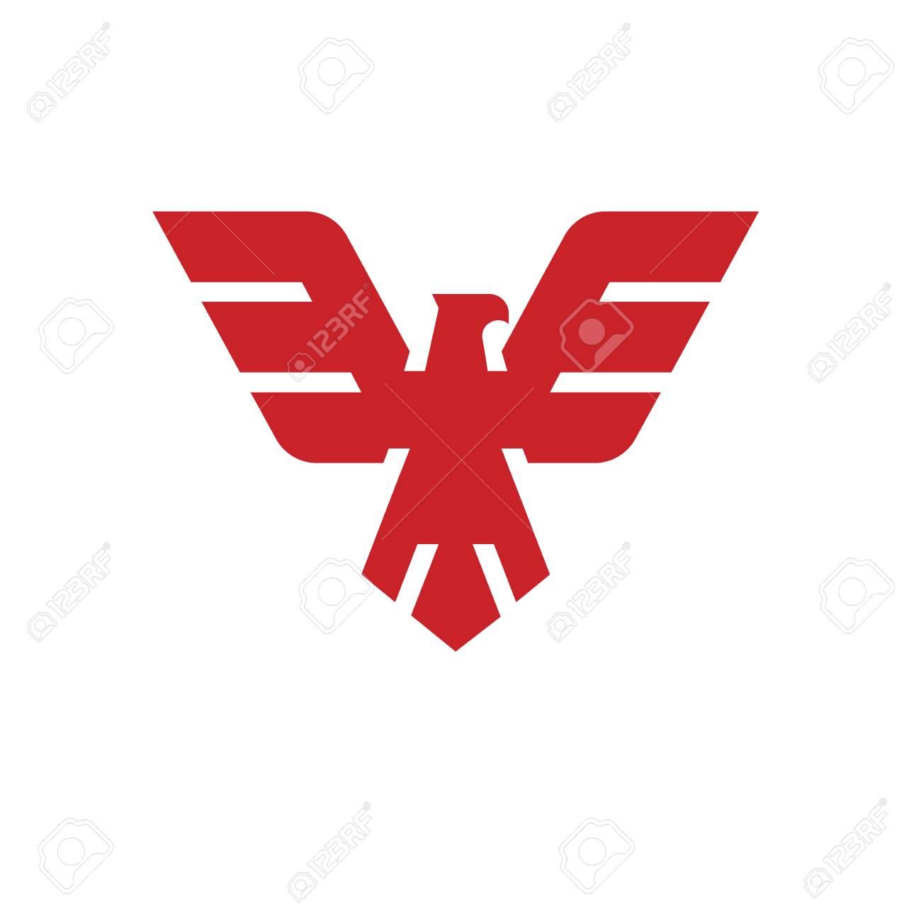 eagle head template hawk mascot graphic bald eagle eagle