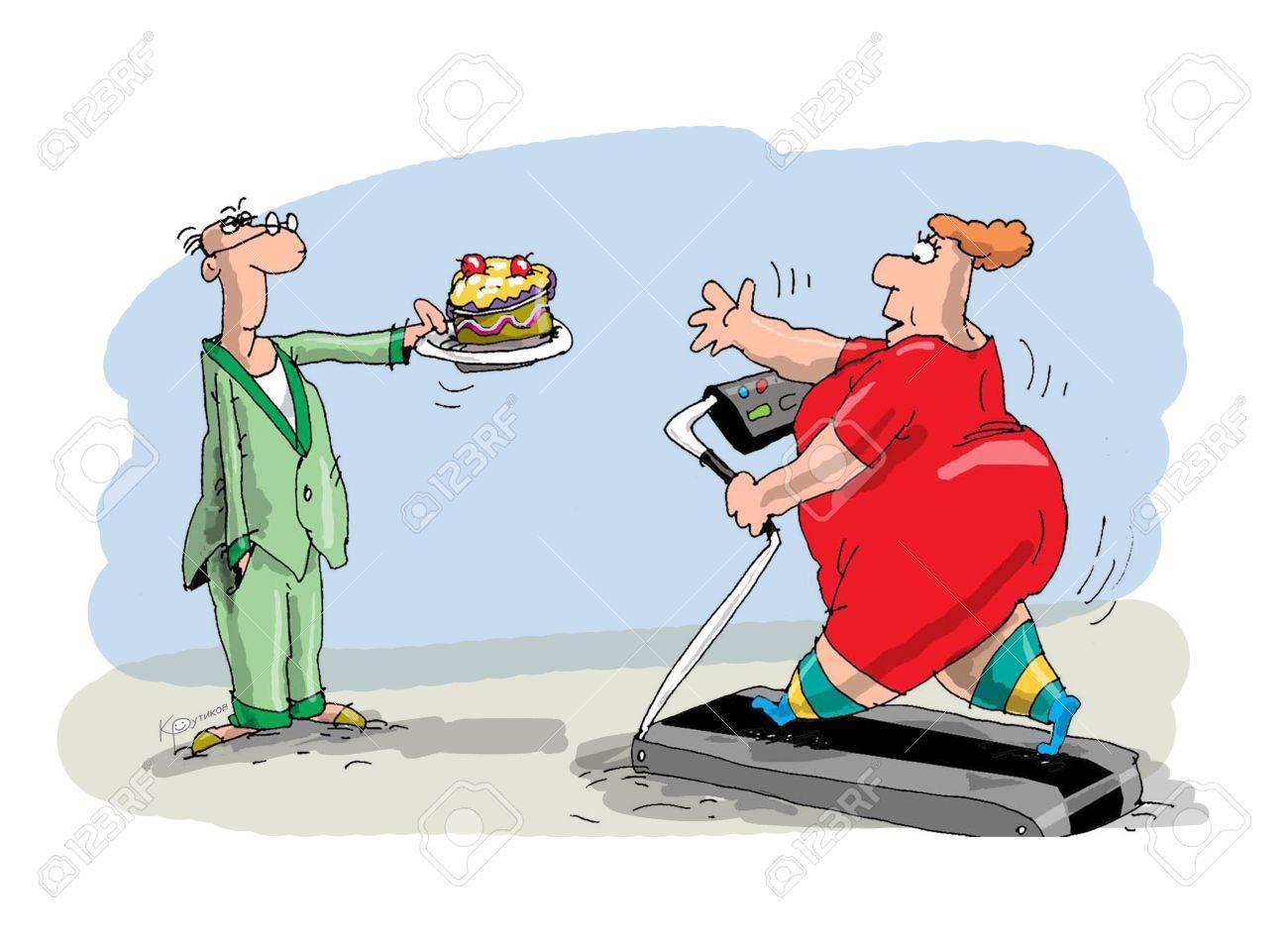 perdere peso in esecuzione sul tapis roulant
