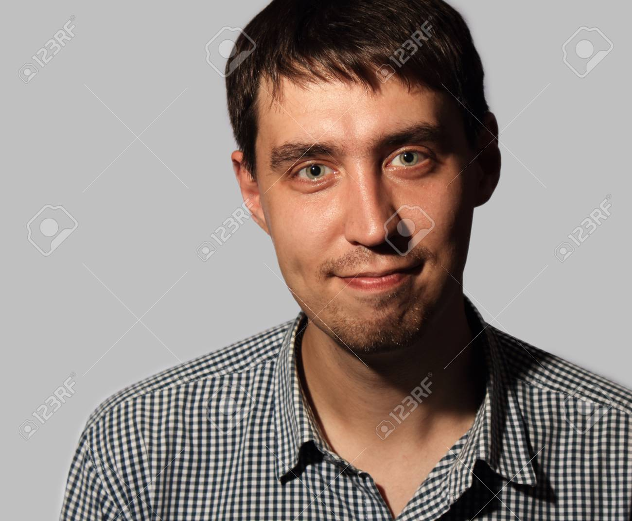 Funny smiling young man Stock Photo - 16086838