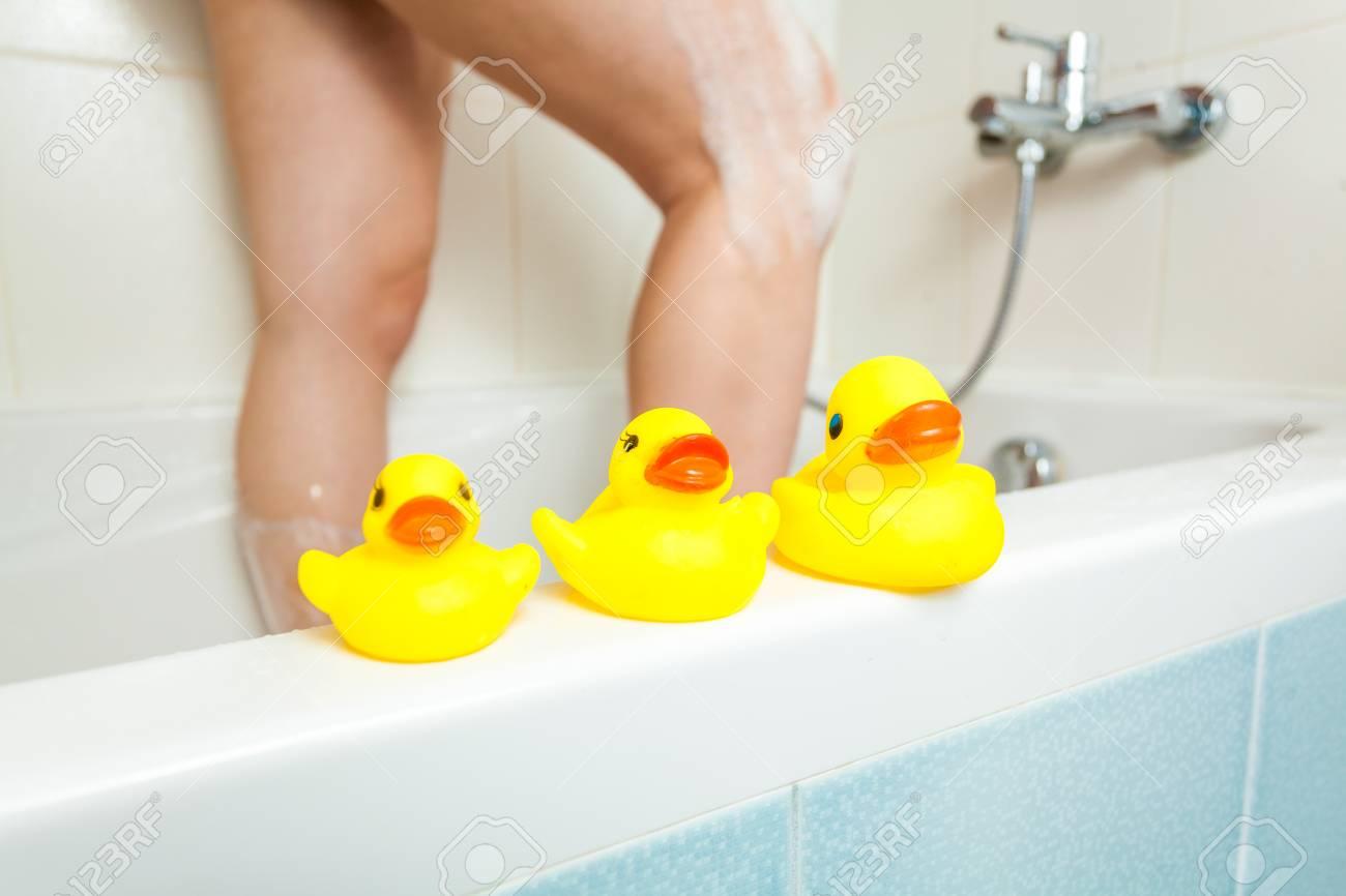 Rubber Duck Shower Bath Duck