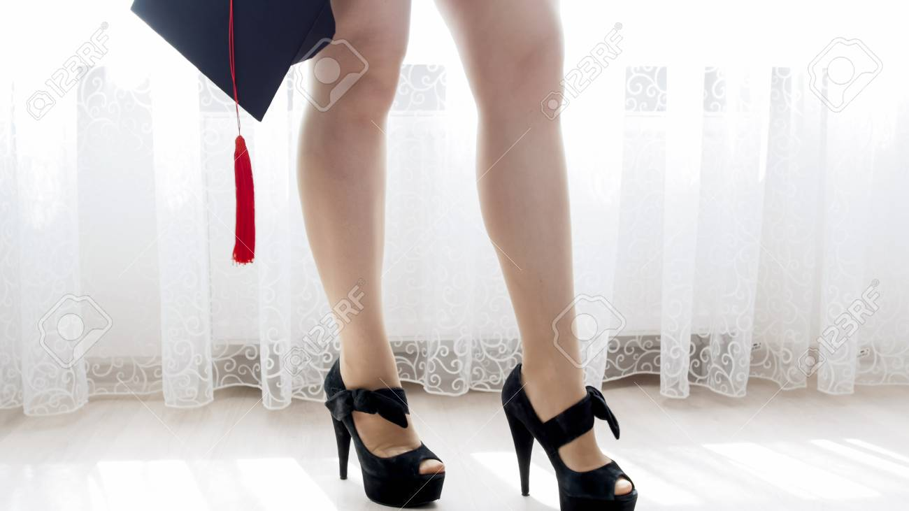 Student With Sexy Legs