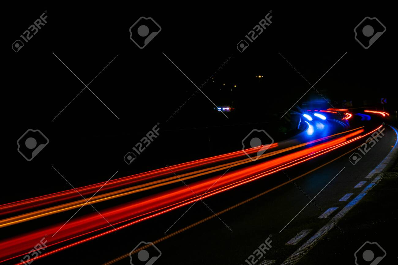 lights of cars with night. - 136042585