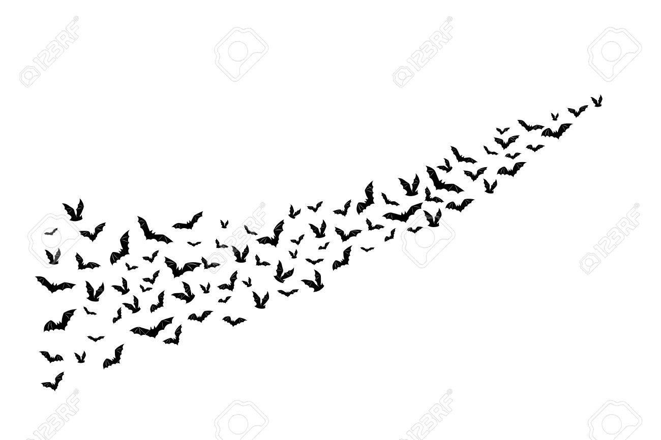 Halloween PNG – Halloween Flying Bats – PNG drive
